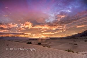 Mesquite Dunes under the rising sun