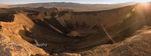 Ubehehe Crater in the early AM